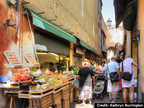 The Old Market, Bologna,