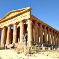 Valley of the Temples in Agrigento, Sicily