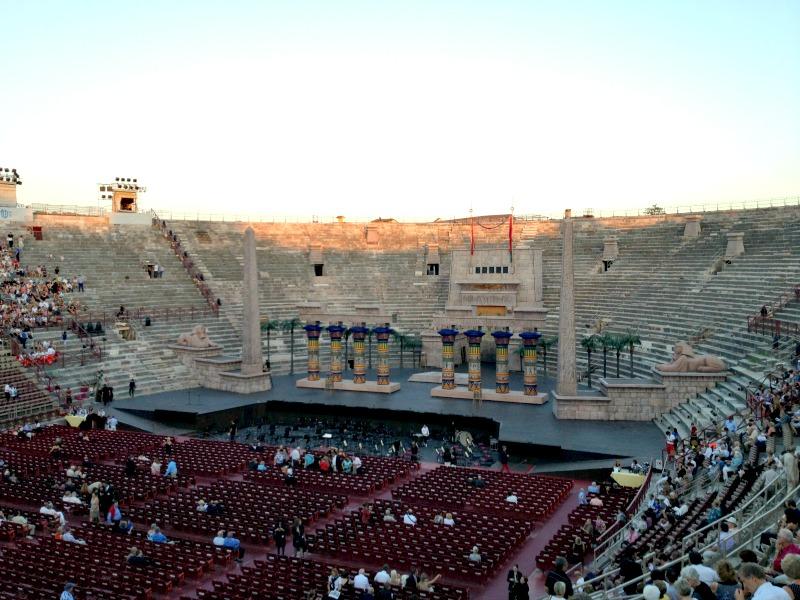 Verona Arena Seats