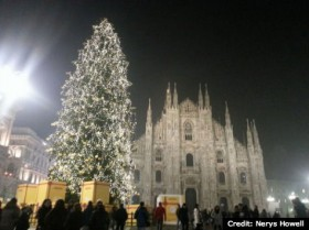 """Show and Tell"": Christmas in Milan"