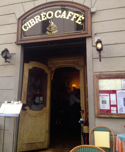 Cibreo Caffe in Florence is listed in this extensive guide where locals share their favorite places to eat in the main cities in Italy | BrowsingItaly.com