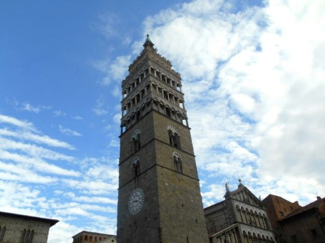Bell Tower in Pistoia, Tuscany
