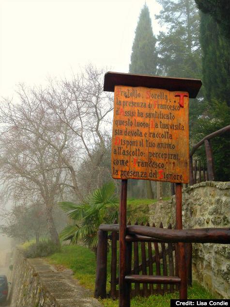 Cortona, Italy: Le Celle