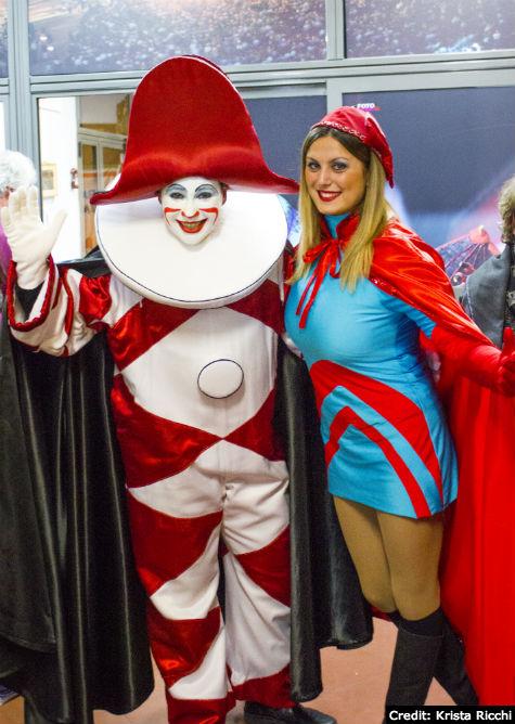 Burlamacco - Mascot of the Carnival of Viareggio