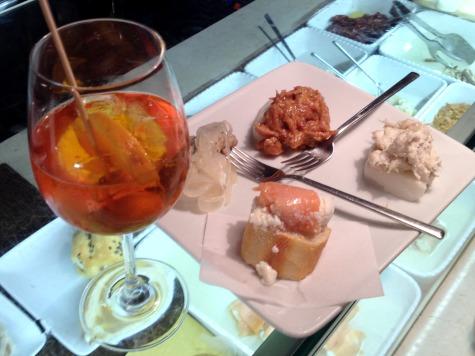 Spritz and cicchetti in Venice