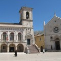 10 Favorite Reads on Italy: July 25 | Piazza San Benedetto in Norcia, Umbria | BrowsingItaly.com