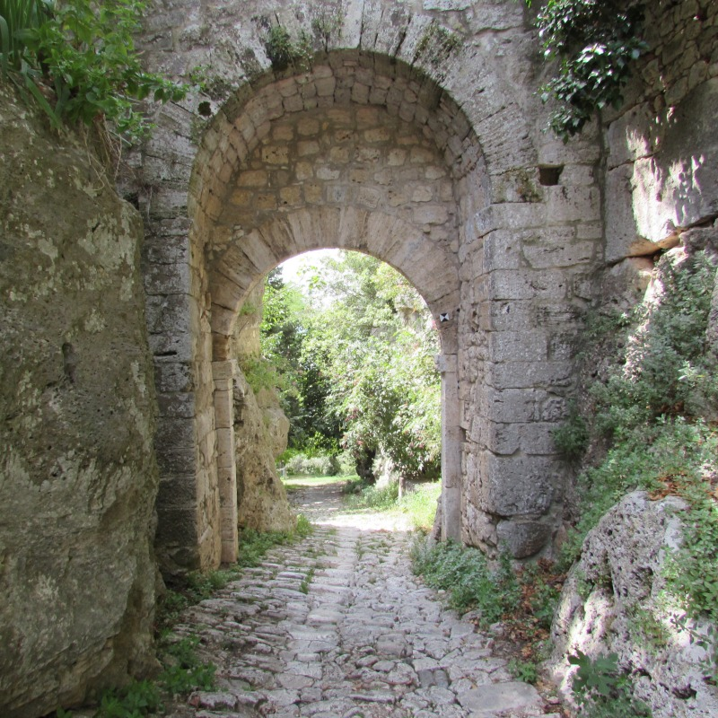 Roman road | Italy Show and Tell: Visit to Maremma, Tuscany | BrowsingItaly.com