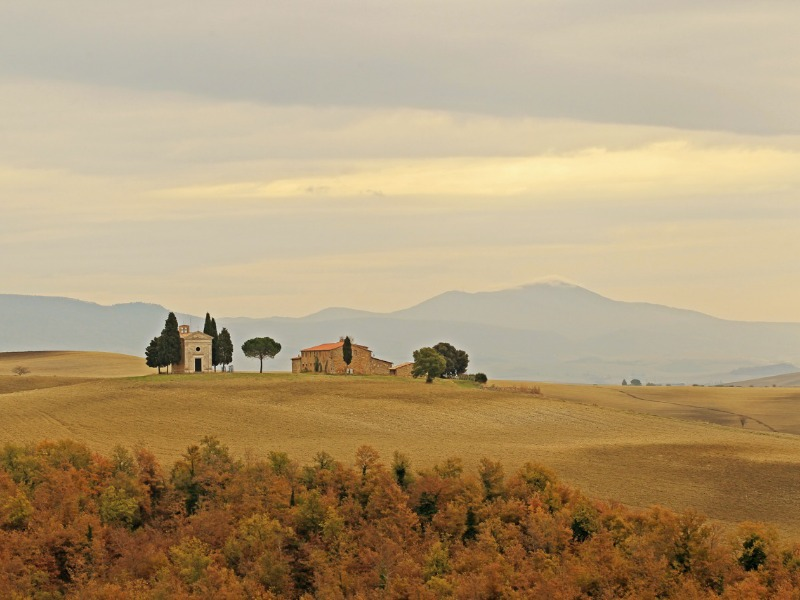 Val d'Orcia, Tuscany by Kenny Kim | Italy Show and Tell: Tuscany in Fall/Winter | BrowsingItaly.com