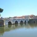 Bridge of Tiberius in Rimini | BrowsingItaly.com