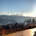 Smoking chimneys in Todi, Umbria | Fireplace, Christmas and...a glass of Montefalco Sagrantino Passito | BrowsingItaly.com