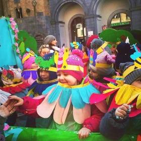 Italy's Littlest Carnevale