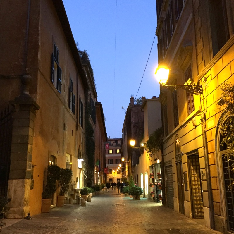 Postcard from Italy: Via Margutta, Rome | BrowsingItaly