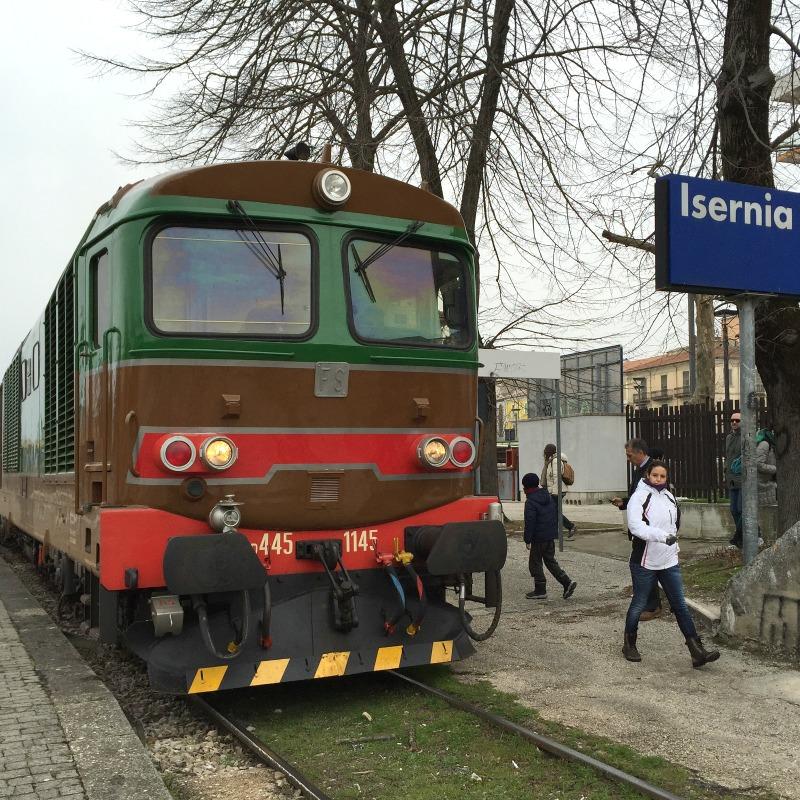 At Isernia, Molise | Transiberiana d'Italia  - Ride on a historic train