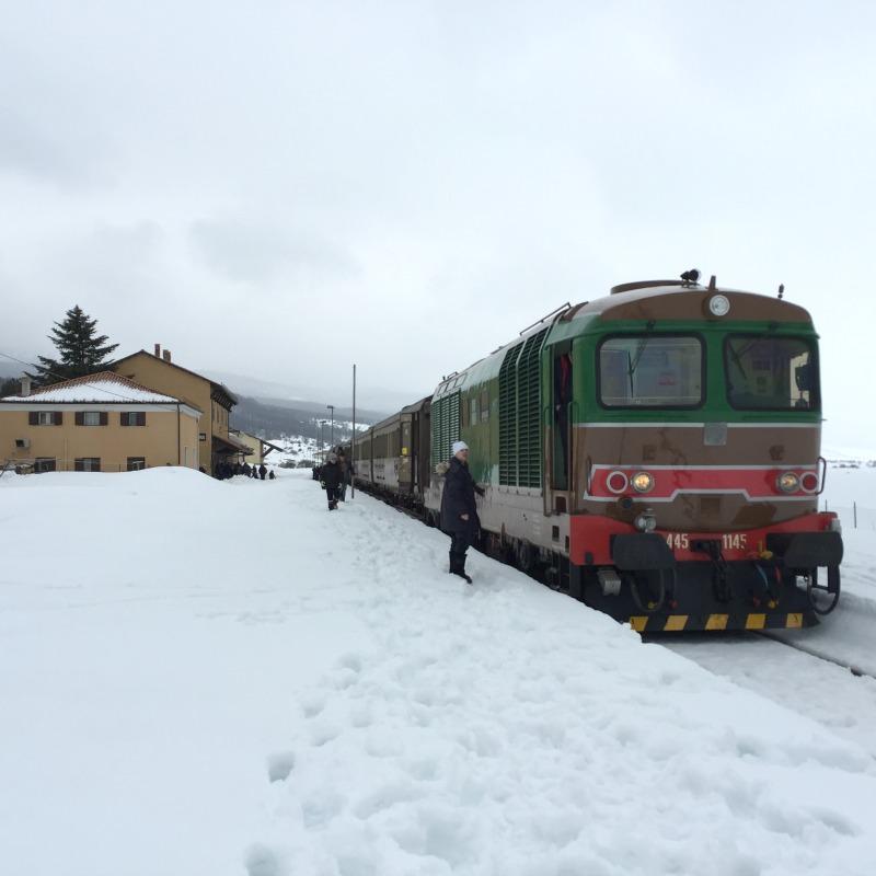 At Palena, Abruzzo | Transiberiana d'Italia - Ride on a historic train