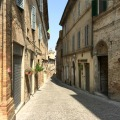 Street in Treia | 3 Most Beautiful Villages in Le Marche | BrowsingItaly