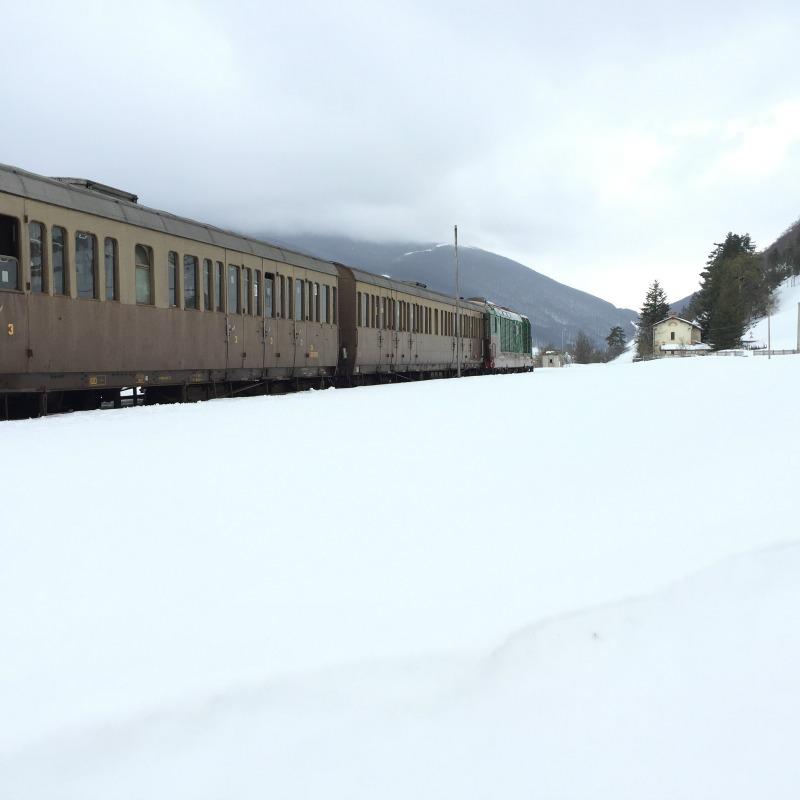 Transiberiana d'Italia, historic train | BrowsingItaly