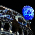 Spectacular show at the Colosseum in Rome by Acea to celebrate International Year of Light 2015 | BrowsingItaly.com