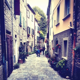Portico di Romagna: Dante Slept Here?