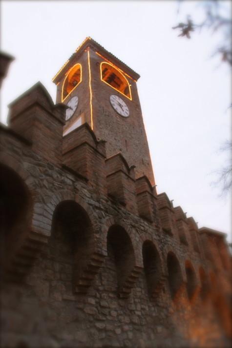 Clock Tower in Castelvetro di Modena | Photo credit: Historic archive of the Municipality of Castelvetro di Modena