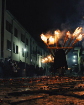 The 'Ndocciata: A fiery event in Agnone, Molise