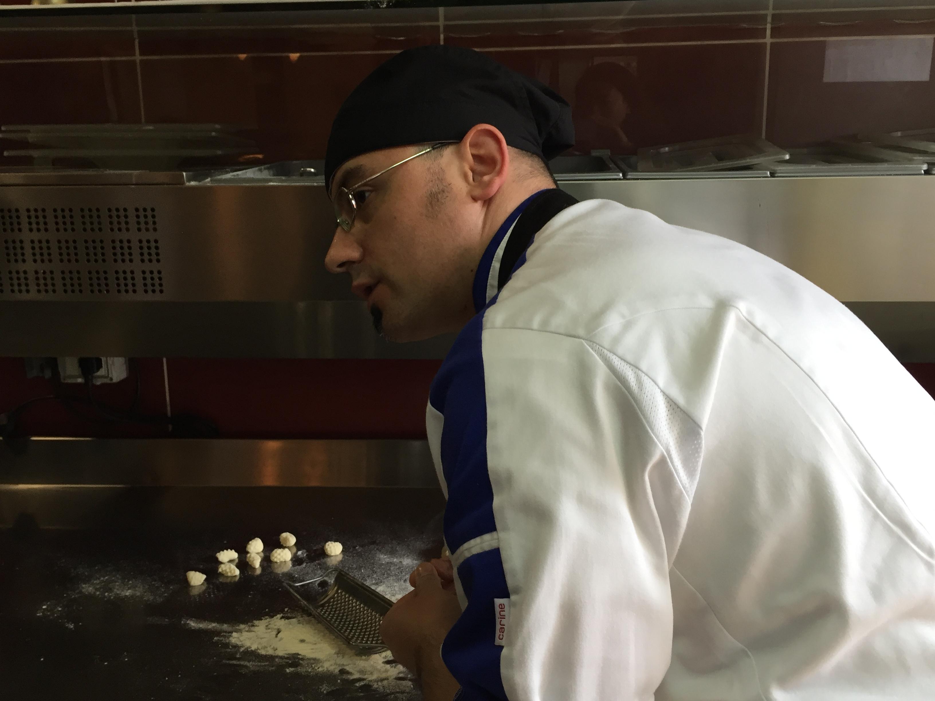 Chef Manolo Leoni of SaMesa Restaurant in Geo Village | Olbia, Sardinia | BrowsingItaly.com