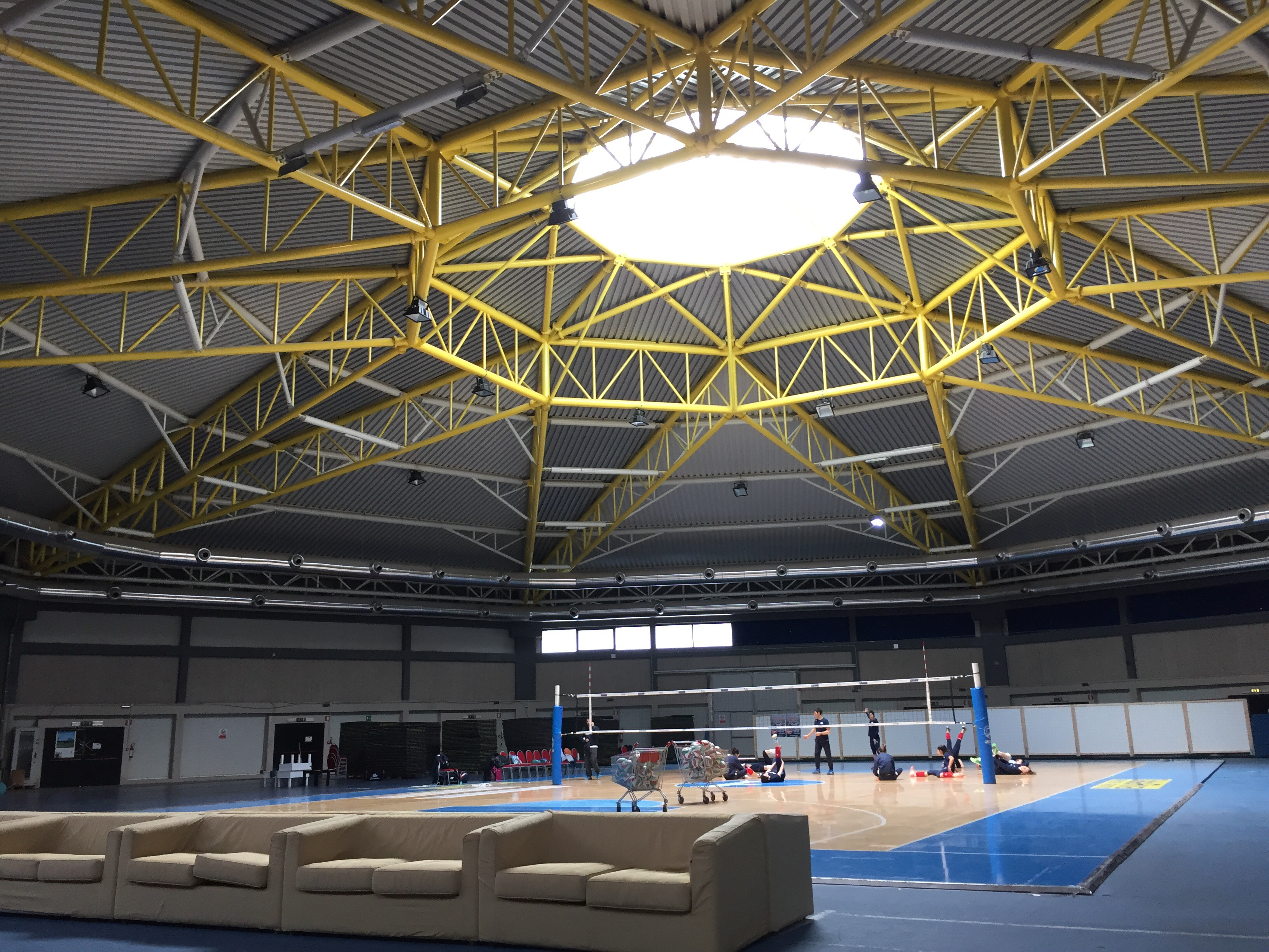 Sports arena in Geo Village that hosts many events and sports tournaments | Olbia, Sardinia | BrowsingItaly.com