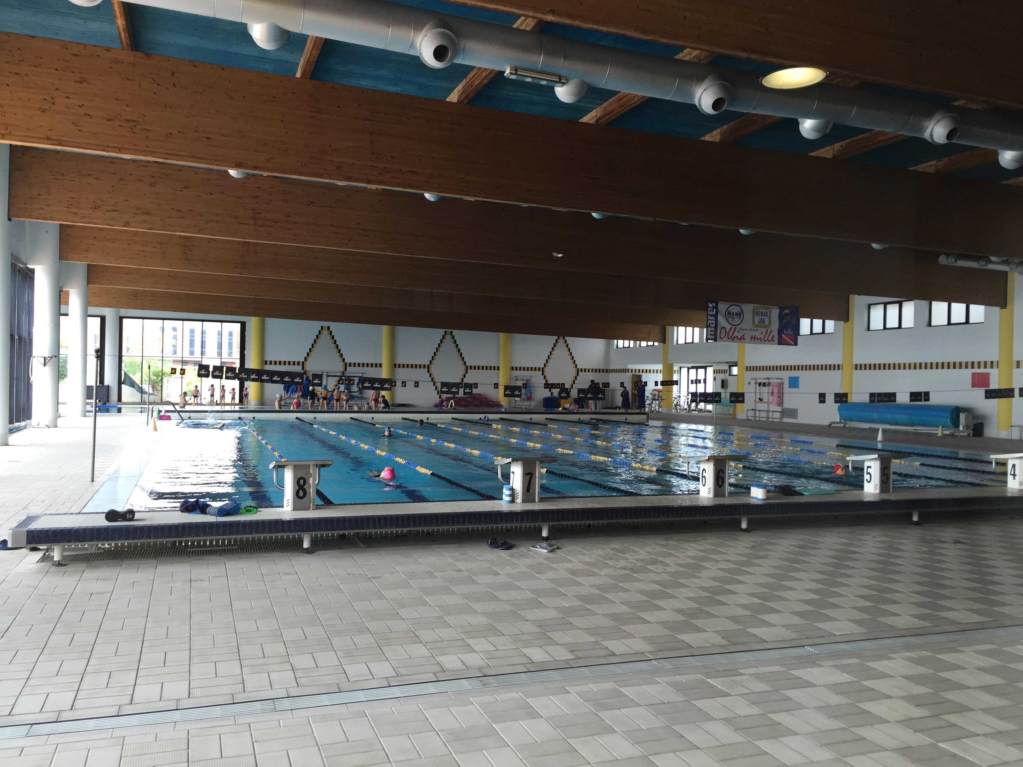 25-meter indoor swimming pool at Geo Village | Olbia, Sardinia | BrowsingItaly.com