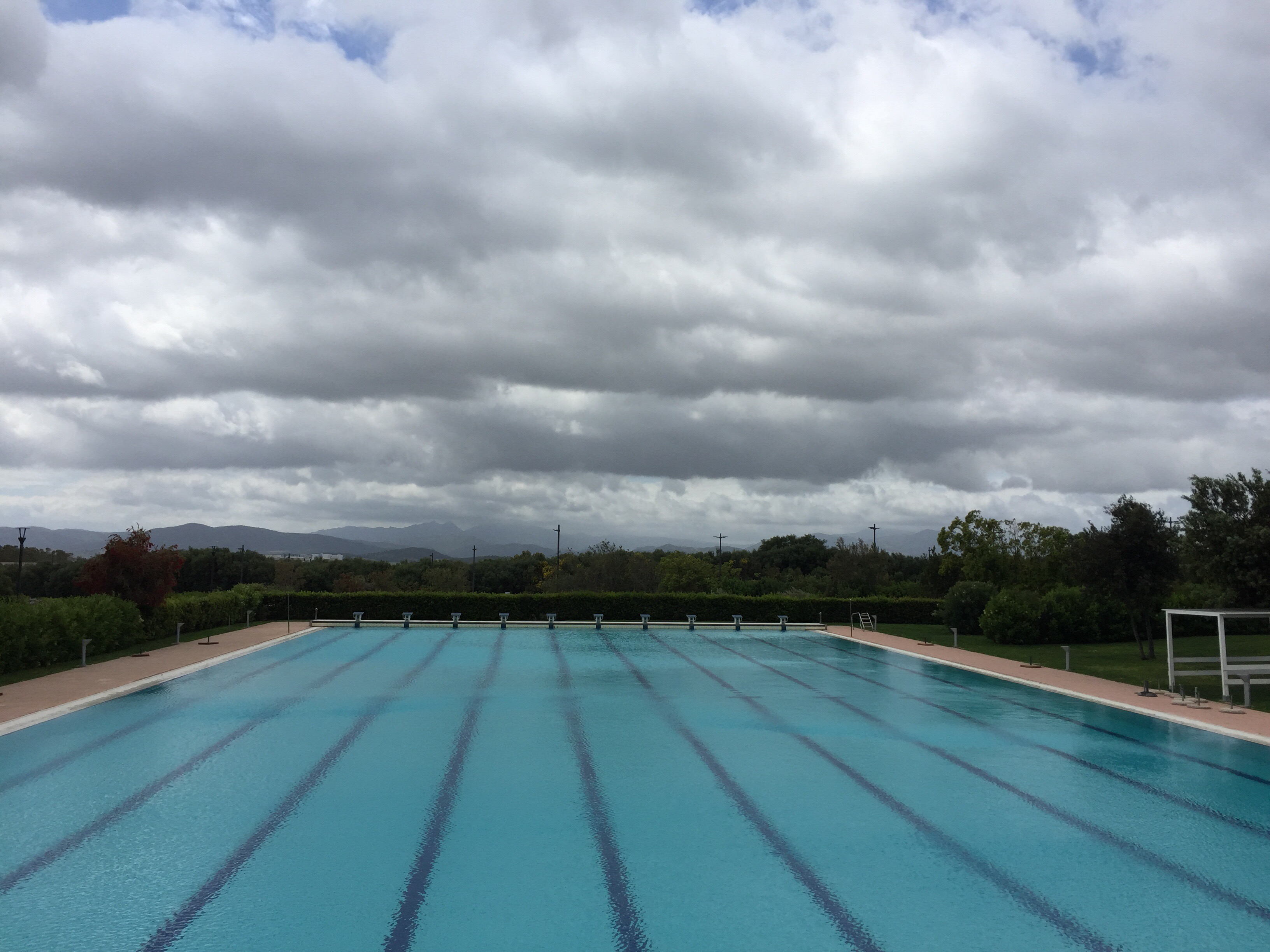 Olympic size swimming pool at Geo Village | Olbia, Sardinia | BrowsingItaly.com