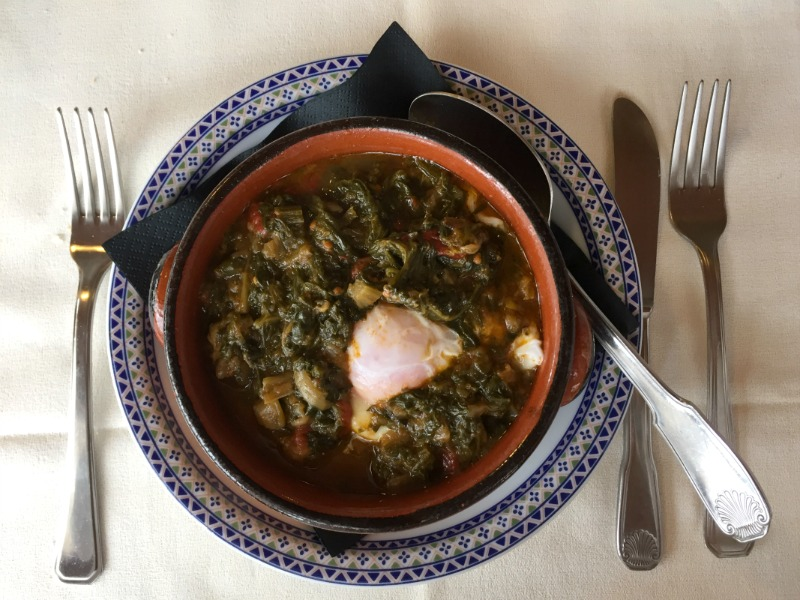 Acquacotta, typical rustic soup from Maremma, Tuscany at La Cascia in Montemerano | BrowsingItaly.com