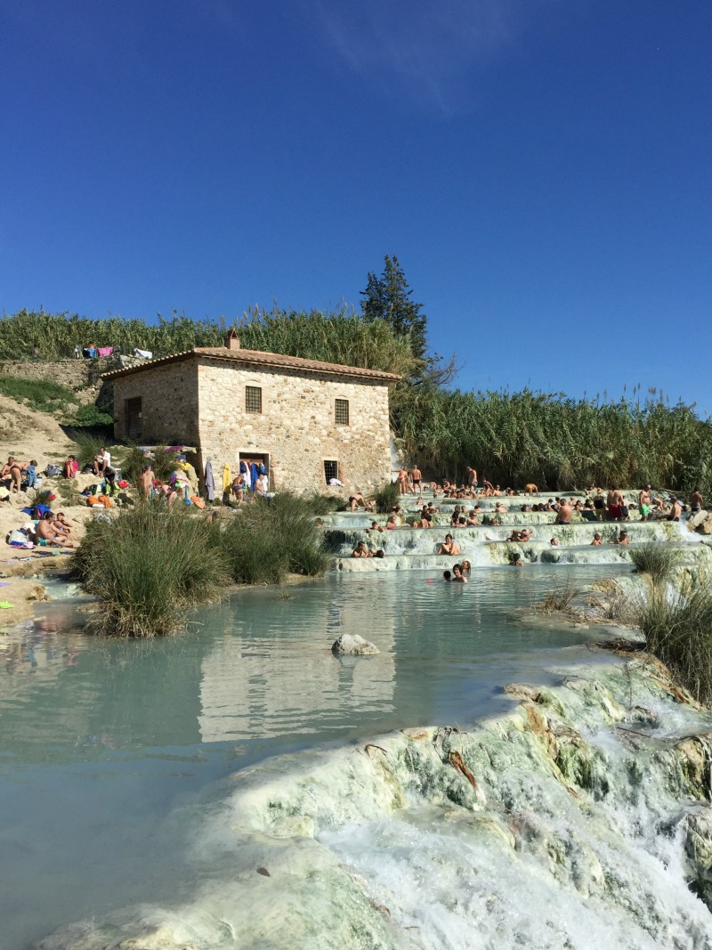 Cascate del Mulino, is a hot springs in Maremma, Tuscany that is open to the public for free | BrowsingItaly.com