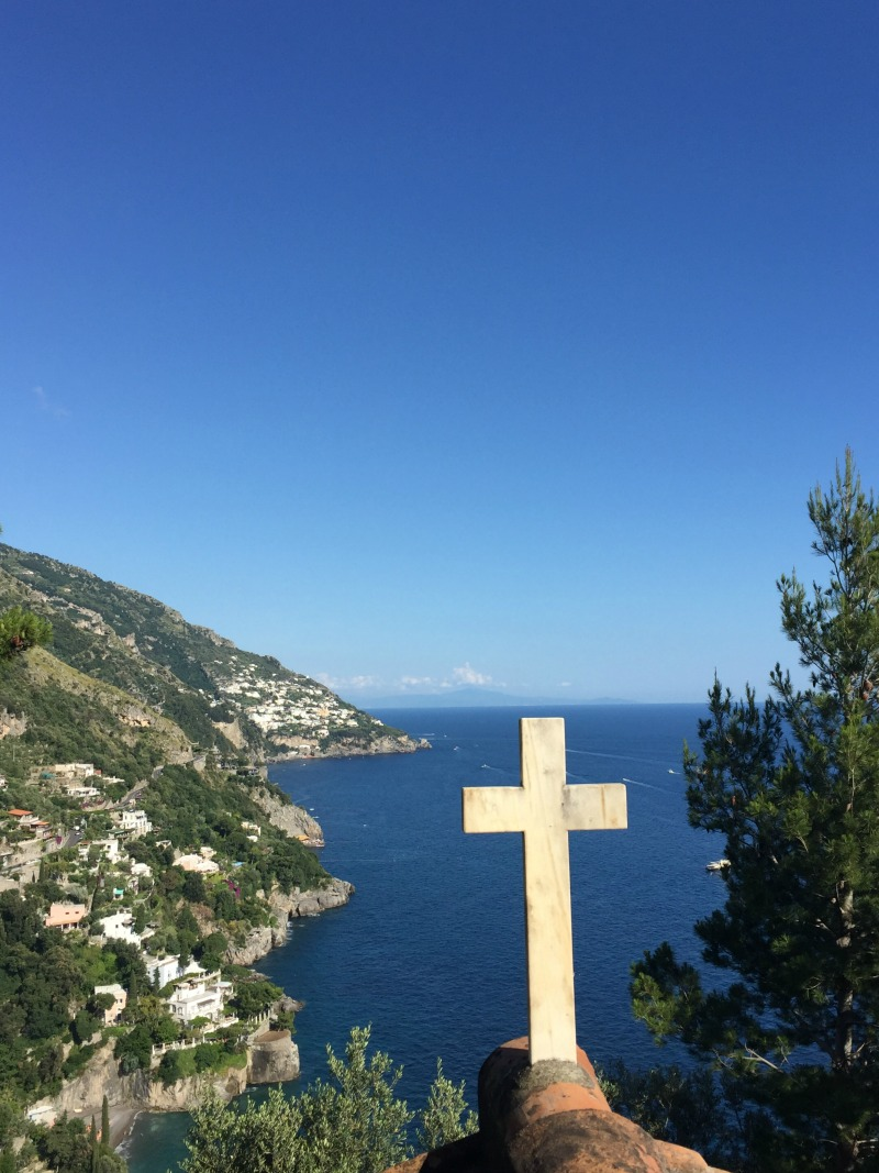 Cemetery in Positano, Amalfi Coast | BrowsingItaly.com