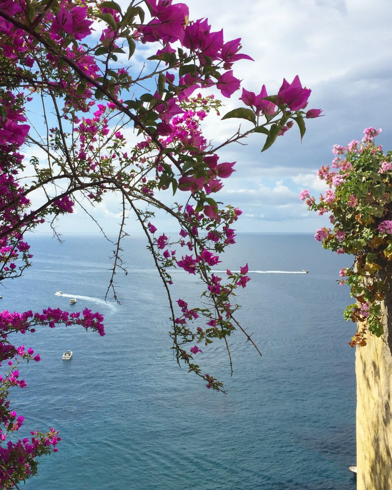 View from the house in Positano, Amalfi Coast | BrowsingItaly.com