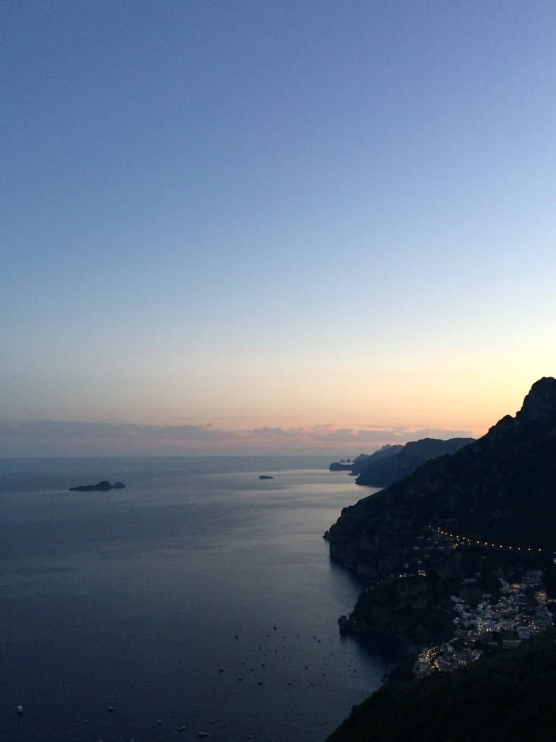 View from Montepertuso, Positano | BrowsingItaly.com