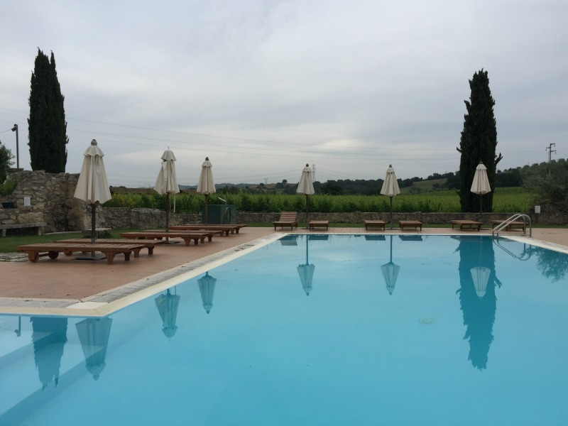 Swimming pool at Villa Acquaviva in Maremma, Tuscany | BrowsingItaly.com