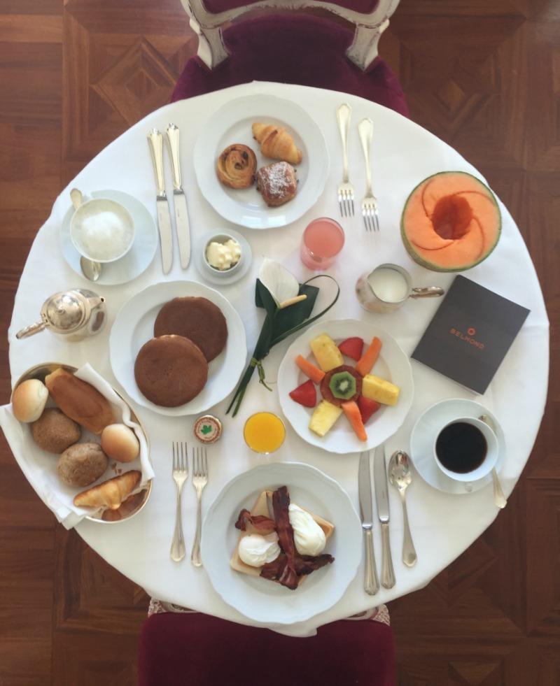 In-room breakfast at Belmond Cipriani, Venice | BrowsingItaly.com