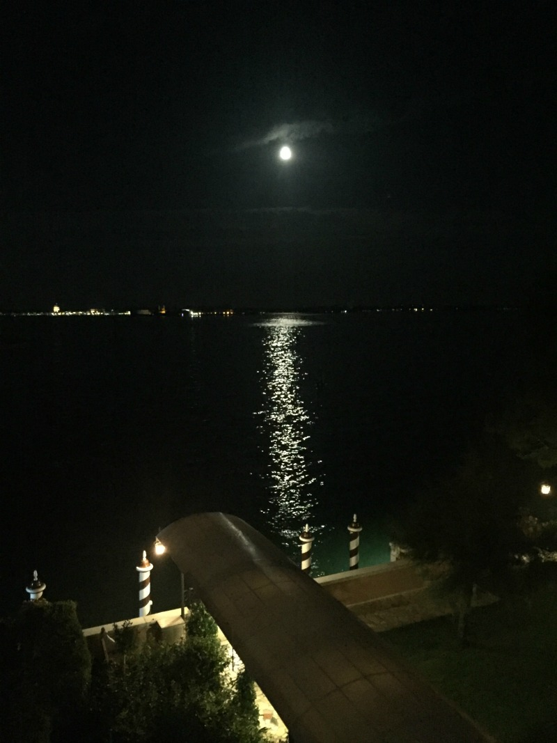 Moonlight on the lagoon at Belmond Cipriani, Venice | BrowsingItaly.com