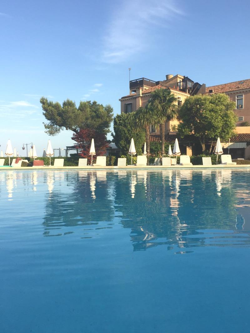 Saltwater pool at Belmond Cipriani, Venice | BrowsingItaly.com