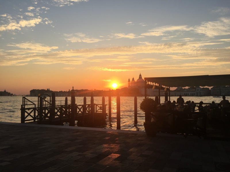 Sunset from Cip's Club at Belmond Cipriani, Venice | BrowsingItaly.com