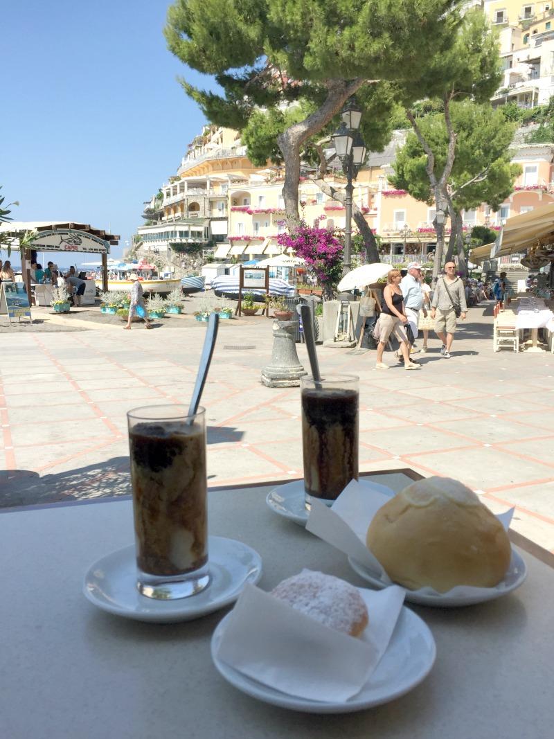 Breakfast at Buca di Bacco in Positano | Amalfi Coast | BrowsingItaly.com