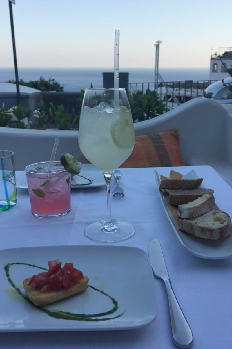 Drinks at Next2 in Positano | Amalfi Coast