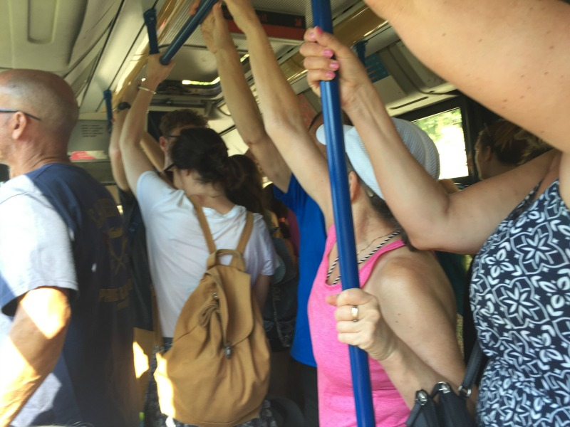 Hang on tight! - Inside the bus from Nocelle to Positano | Amalfi Coast | BrowsingItaly.com