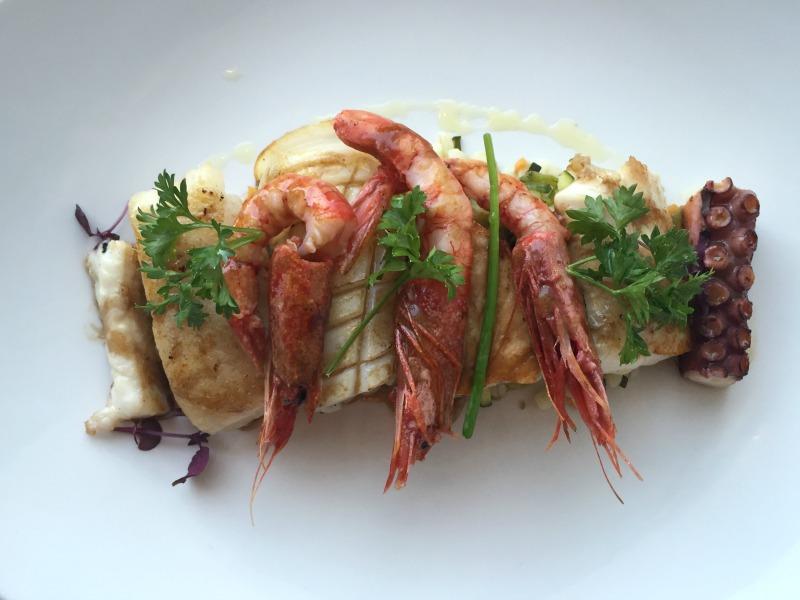 Mixed grill seafood at Next 2 in Positano, Amalfi Coast | BrowsingItaly.com