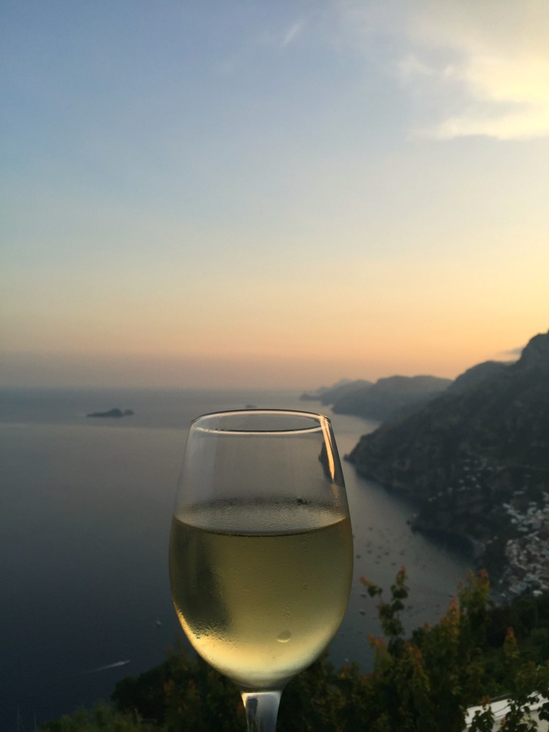 View of the Amalfi Coast from Ristorante Santa Croce in Nocelle | BrowsingItaly.com