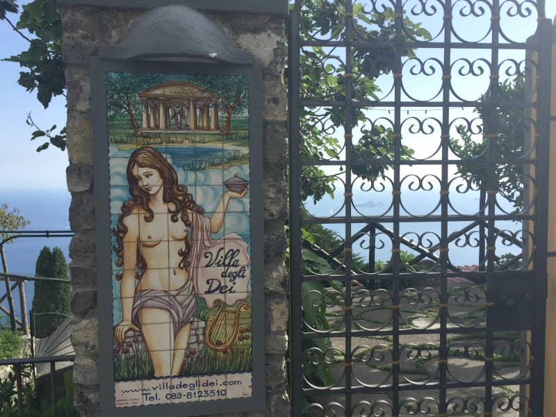 Villa degli Dei in Nocelle | Positano, Amalfi Coast | BrowsingItaly.com