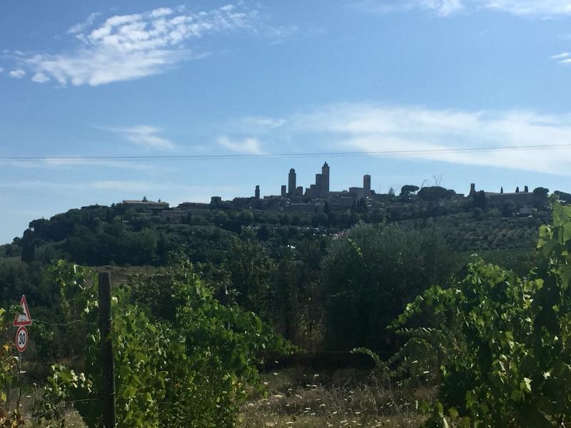 View of San Gimignano, Tuscany | Slow Travel in Tuscany with Km Zero Tours | BrowsingItaly.com