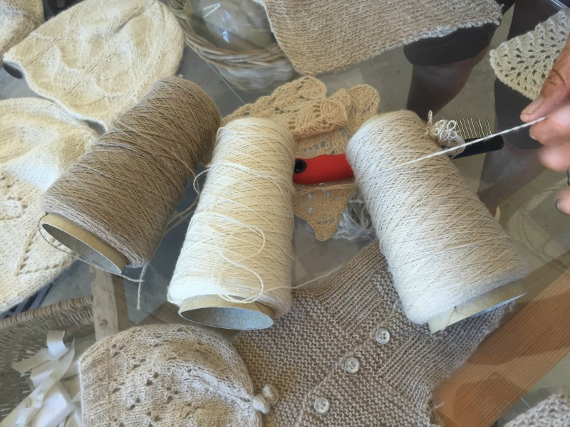 Cashmere yarn and products from Chianti Cashmere Goat Farm | Slow Travel in Tuscany with Km Zero Tours | BrowsingItaly.com
