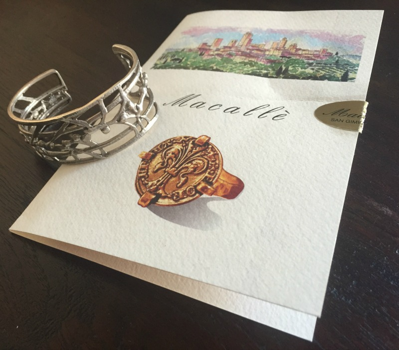 Bracelet from Macalle' in San Gimignano, Tuscany | Slow Travel in Tuscany with Km Zero Tours | BrowsingItaly.com