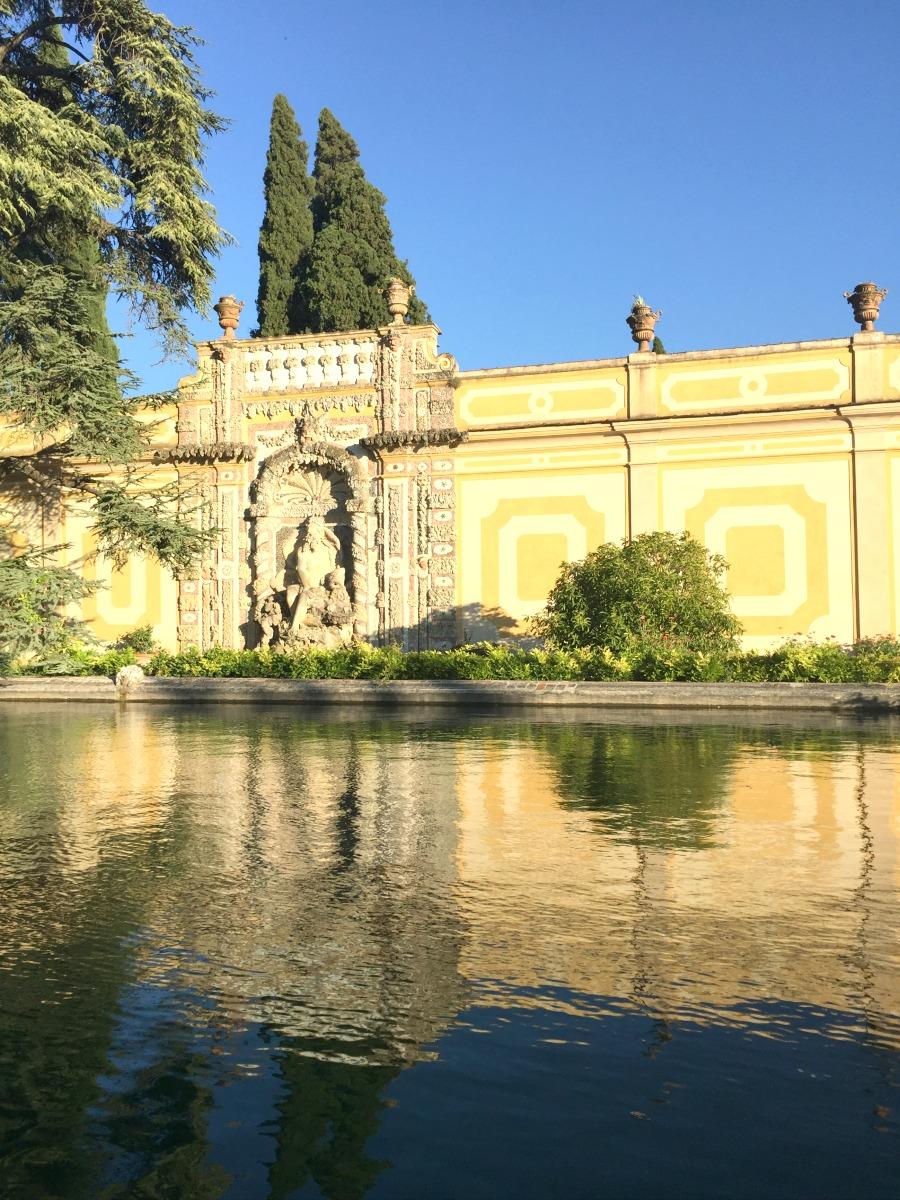 Italian Garden of the Villa | Slow Travel in Tuscany with Km Zero Tours | BrowsingItaly.com