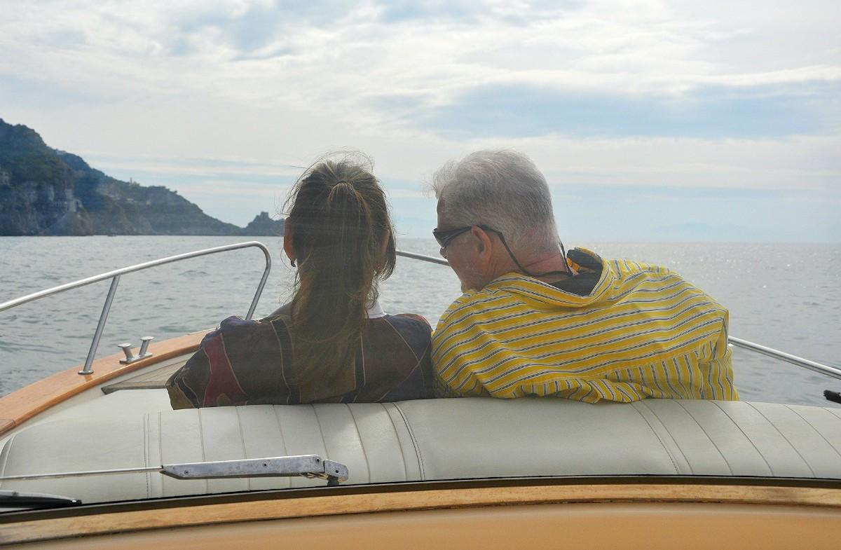 Private boat ride on the Amalfi Coast | Amalfi Coast and Rome Culinary Vacation