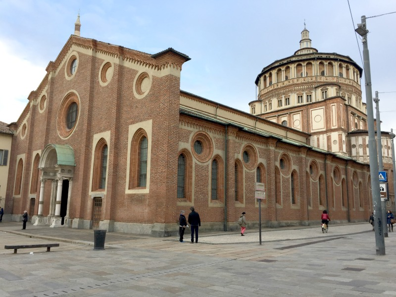Santa Maria delle Grazie | The Last Supper | BrowsingItaly.com